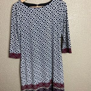 White House Black Market shift dress size S